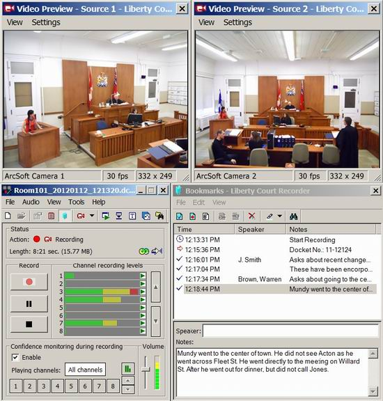 Liberty Recording PC based Digital Court Recording Solutions