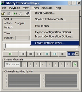 Use the LIR Player Program to Create a Portable Player